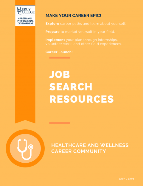 Healthcare and Wellness Job Search Resource
