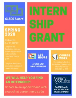 Internship Grant Flyer_SP 2020