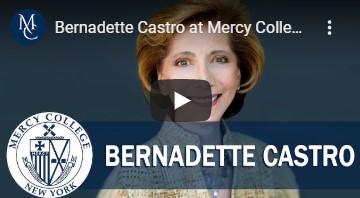 Bernadette Castro at Mercy College