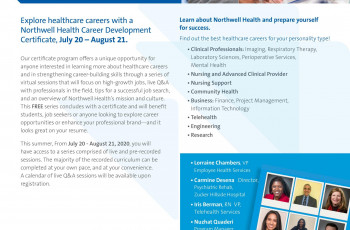 Northwell Health's Career Development Certificate Program