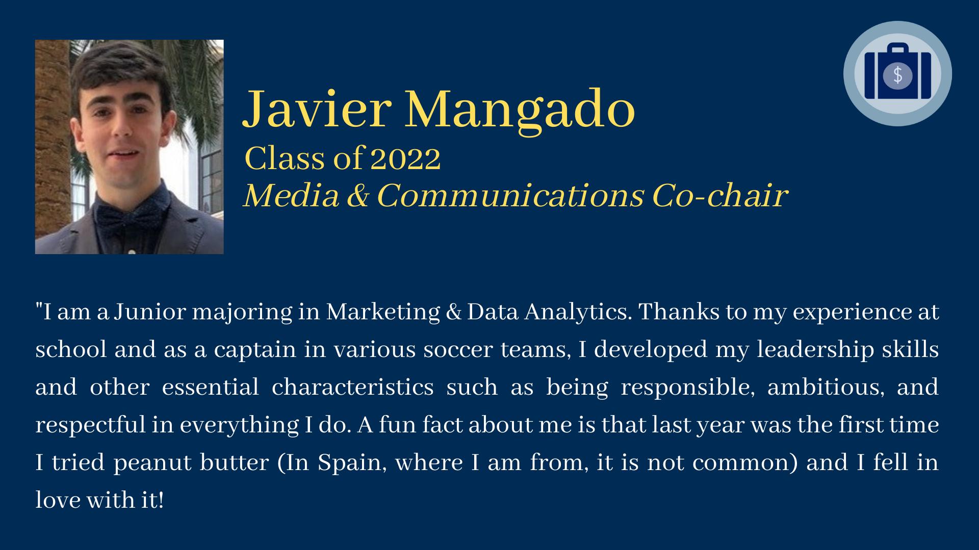 Javier Mangado bio