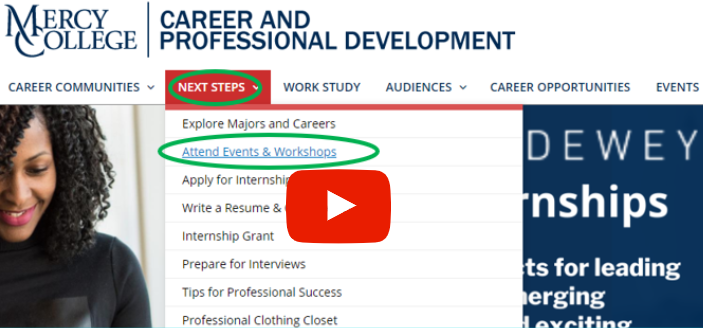 How to watch career academy videos pictuere