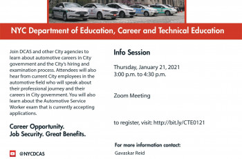 CityTalk Panel Discussion - Automotive Careers in City Government
