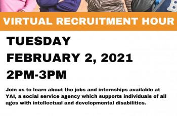 YAI Virtual Recruitment Hour
