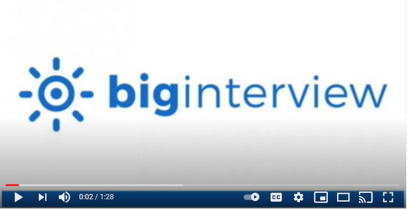 Big interview video by Javier