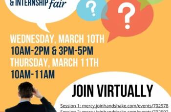 Virtual Career Fair Drop in Hours Session 1