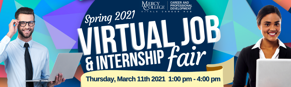 Virtual Job and Internship Fair Banner