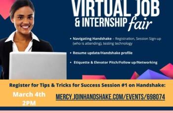 Tips & Tricks for Success at Spring 2021 Virtual Job and Internship Fair