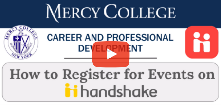 cover for how to register for evens on handshake