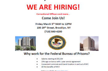 Federal Bureau of Prisons Career Fair