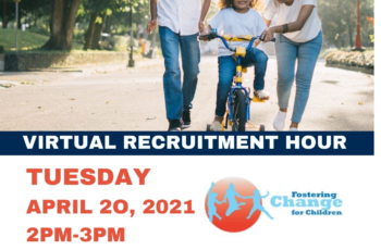 Fostering Change for Children Virtual Recruitment Hour
