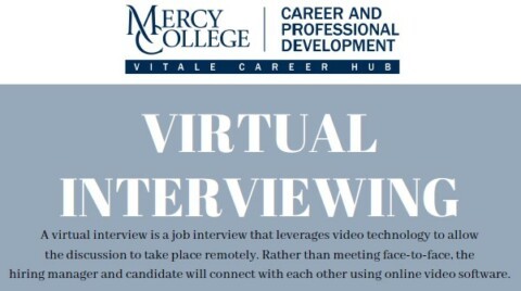 Virtual Interviewing Tips