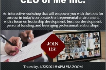 Young Ambitious One and Mercy College Presents CEO of Me Inc.