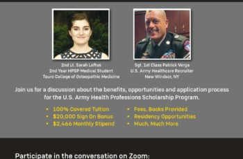 HEALTH PROFESSIONS SCHOLARSHIP PROGRAM TOWN HALL