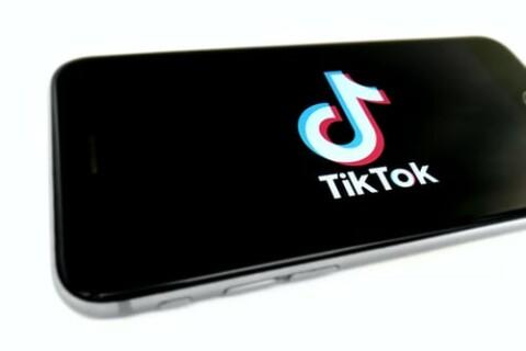 tiktok image on cell