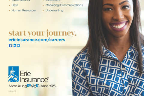 Erie Insurance Intern Flyer