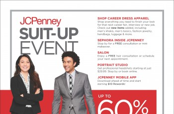 JC Penny Suit-Up Event