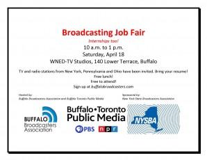Broadcasting Job Fair