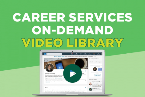 Career Services On-Demand Video Library