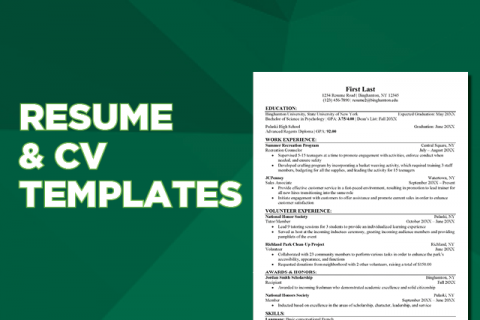 Downloadable/Editable Resume & CV Templates