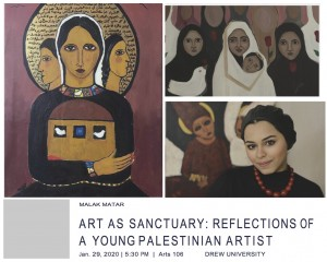 Palestinian Artist, Malak Matar