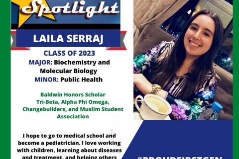 Laila Serraj Student Spotlight