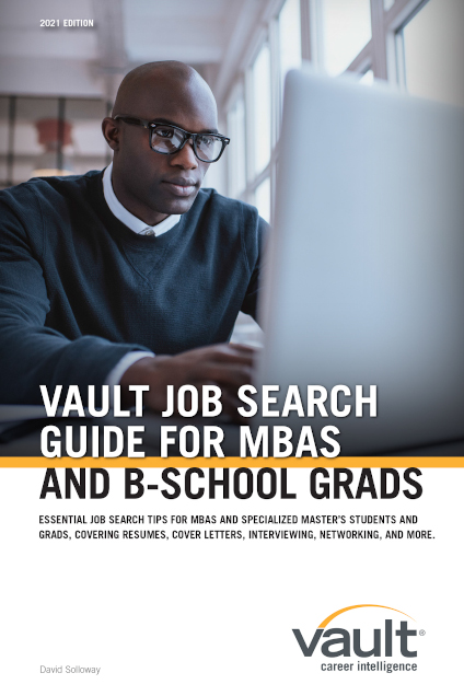 Vault Job Search Guide for MBAs and B-School Grads