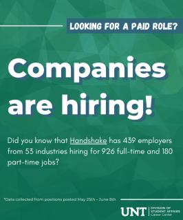 Companies are hiring – Blog Post