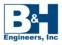 B&H Engineers logo
