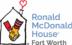 Ronald McDonald House of Fort Worth logo