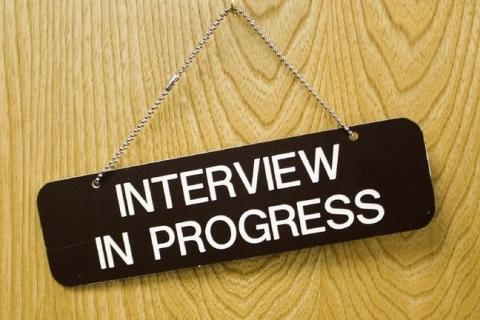 Interview in Progress Photo