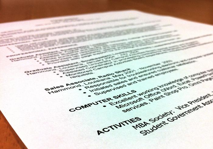 Center For Career Development Resume Uconn
