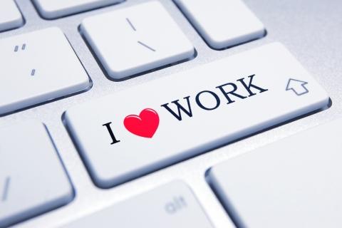 I love Work