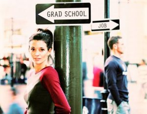 graduate school or job