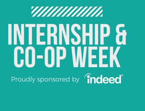 Internship & Co-op Week