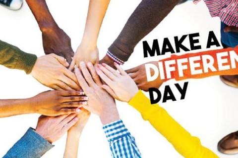 Saturday, October 26, 2019 is National Make a Difference Day.