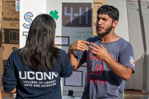 UConn Involvement Fair
