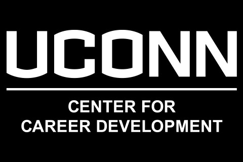 UCONN Center for Career Development wordmark.