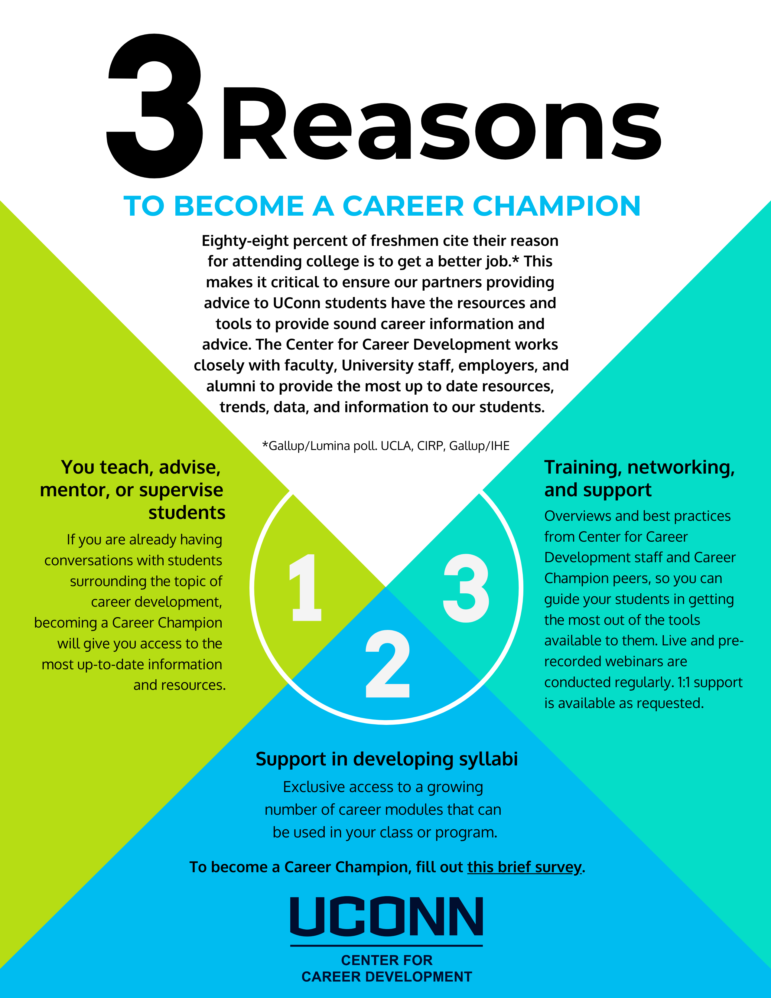 3 Reasons to Become a Career Champion