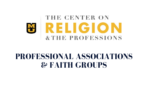 Professional Associations & faith groups