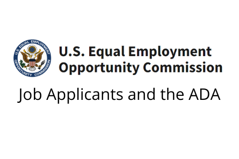 U.S. EEO Commission: Job Applicants and the ADA
