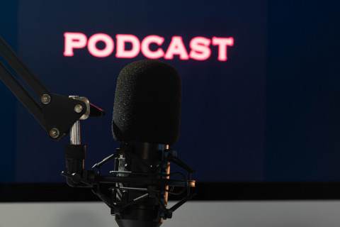 Images emphasizes that the blog post is connected to a podcast