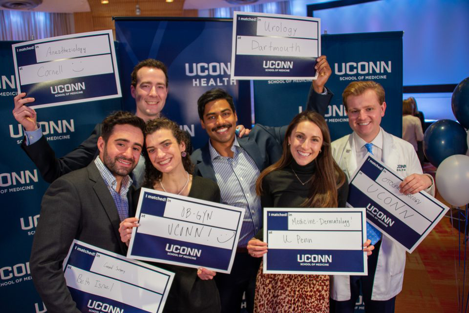 It's a Match for 100+ Doctors-to-Be in UConn Medical School's 50th Graduating Class thumbnail image