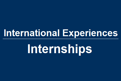 International Experiences – Internships