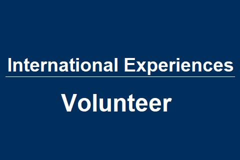 International Experiences – Volunteer