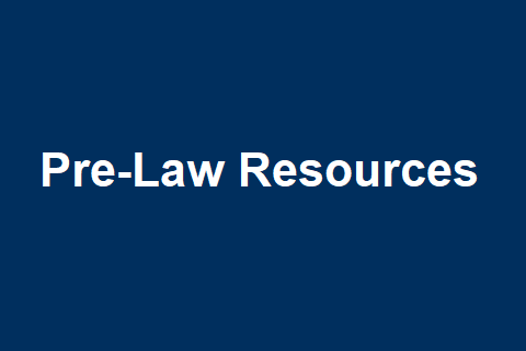Pre-Law Resources
