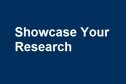 Showcase Your Research