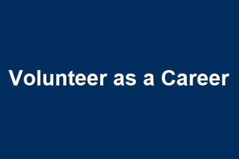 Volunteering as a Career