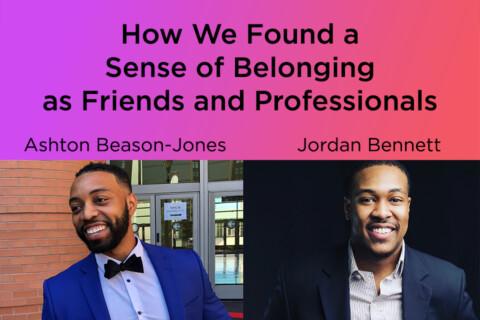 Ashton Beason-Jones and Jordan Bennett