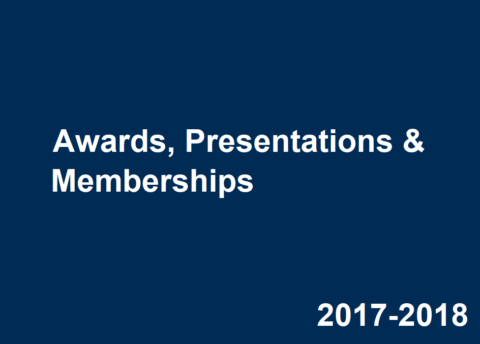 2017-2018 Career Center Awards, Presentations & Memberships